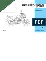 Katalog Suku Cadang Honda New Mega Pro FI