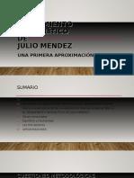 El Pensamiento Geopolítico de Julio Méndez