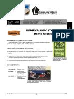 Ft16 Com 2s Lit. Medieval Dante Mío Cid