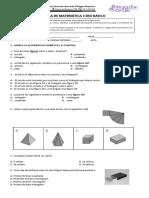 Prueba Figuras y Perimetro 3ero