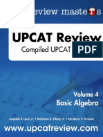 Basic Algebra (Review Masters)