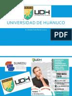 Universidad de Huánuco, Tingo María 2019