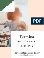 Termina relaciones toxicas