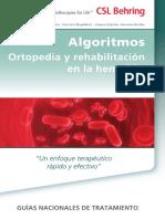 Algoritmos en ortopedia y rehabilitación en la hemofilia