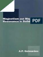 Alberto Passos Guimaraes - Magnetism and Magnetic Resonance in Solids (1998).pdf