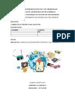 """AGENCIA DE TRANSPORTE TURISTICO """"DAX TURISM"""""""