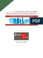 Proposal Tripurainfo Job Portal