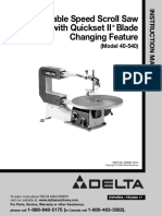 Delta Variable SpeedScroll saw