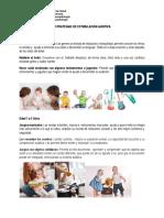 Estrategias de Estimulación Auditiva