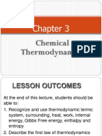 Chapter 3 Thermodynamics