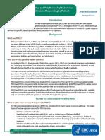 Pfas Clinician Fact Sheet 508