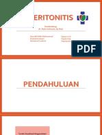 Presentasi Refrat Peritonitis FIXXXX