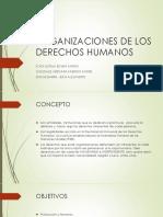 Organizaciones de Los Derechos Humanos