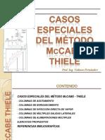 Casos Especiales Del McCabe Thiele