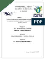 Plata Híbrida Solar Biomasabiogas