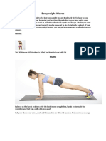 Best Bodyweight Moves