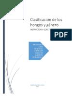 CLASIFICACION DE LOS HONGOS.docx
