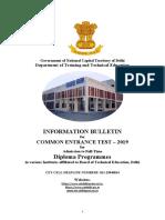 Informationbulletin2019 English