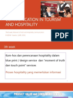 3.2019- 3 Communication in Tourism and Hospitality