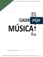 Cuaderno de Musica 2 Eso