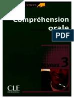 Comprehension Orale - Niveau 3 - B1 B2