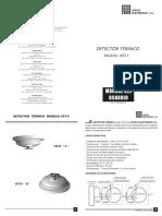 Detector Térmico 601-S