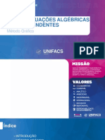 Aula 06 - Equações Algébricas e Transcendentes (Método Gráfico) (Com Anotações 12-09)