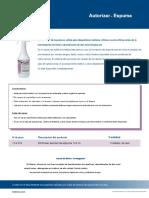 Espuma Multienzimatica Antiadherente, Limpiadora y Hemectante de Instrumental Quirurgico en Spray Con Punta Aplicadora.en.Es