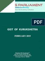 Gist of Kurukshetra April 2019 Www.iasparliament.com