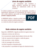 Rede Coletora de Esgoto Sanitário2
