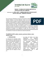 Analisis Diferencial y Acumulativo Granulometrico de Particulas de Maiz Por Tamizado