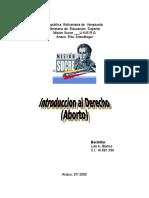 ABORTO- Mision Sucre