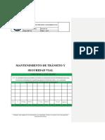MLS-PETS.004 Mantenimiento de Tránsito y Seguridad Vial.1