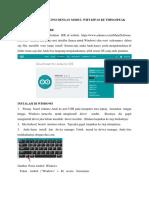 Modul Kirim Esp8266 to Thingspeak