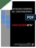 Catalogo Contenedores 2012