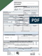 formulario devolucion
