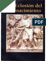 La eclosión del Renacimiento
