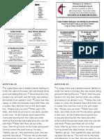 St Andrews Bulletin 062319