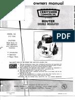 Router Craftsman