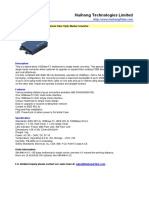 100base Multimode to Singlemode Converter