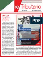 PROCESO DE LIBERACIÓN DE FONDOS DE DETRACCIONES