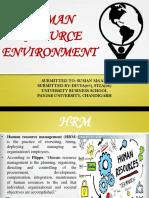 B4. HRM Environment