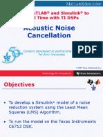 AcousticNoiseCancellation.ppt
