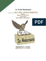FRANZ HARTMANN - Doctrina Del Conocimiento