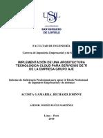 Caso - Tesis - Proyecto Global