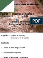 @ Mecanica de Suelos II - Cap. III - Empuje de Tierras