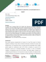 El Derecho Al Voto Femenino en Argentina