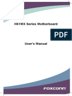 Foxconn H61MX Manual