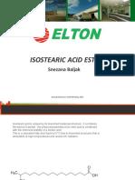 Isostearic Acid Esters