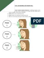 TÉCNICA DE LA RELAJACIÓN PASIVA DE SCHWARTZ Y HAYNES